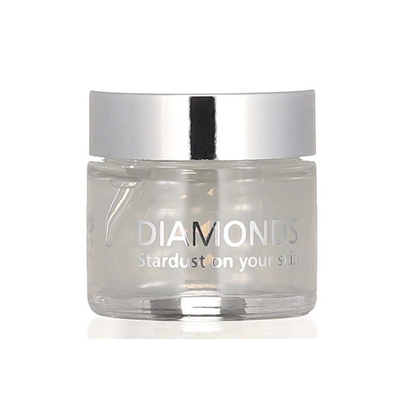 Настоящий c алмазной пылью крем для лица DIAMONDS 30мл